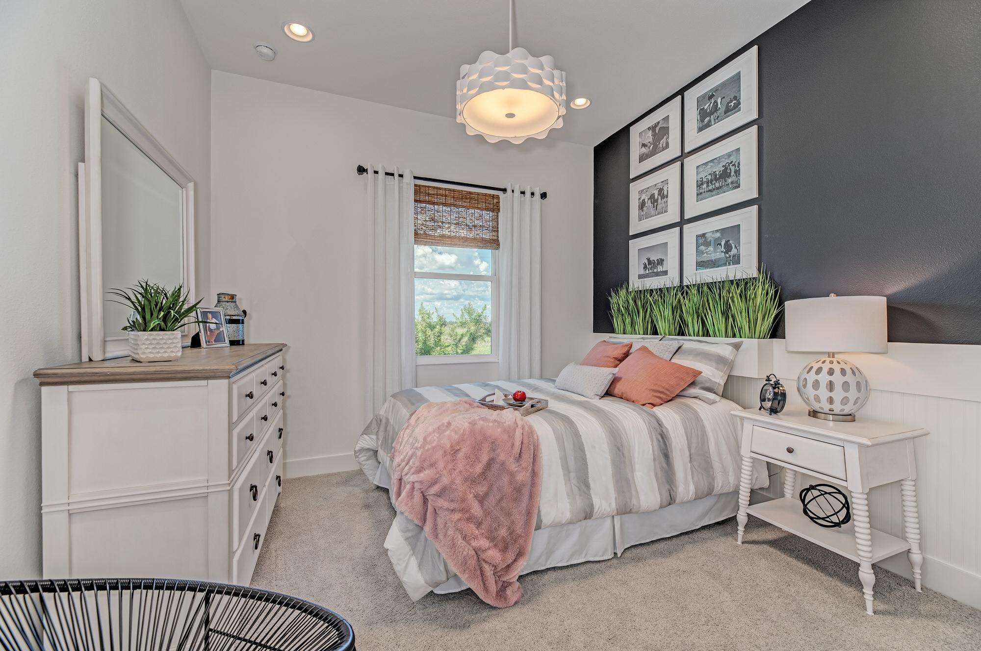 Bedroom featured in the Barbados 2800 3 Car Garage By Medallion Home in Sarasota-Bradenton, FL