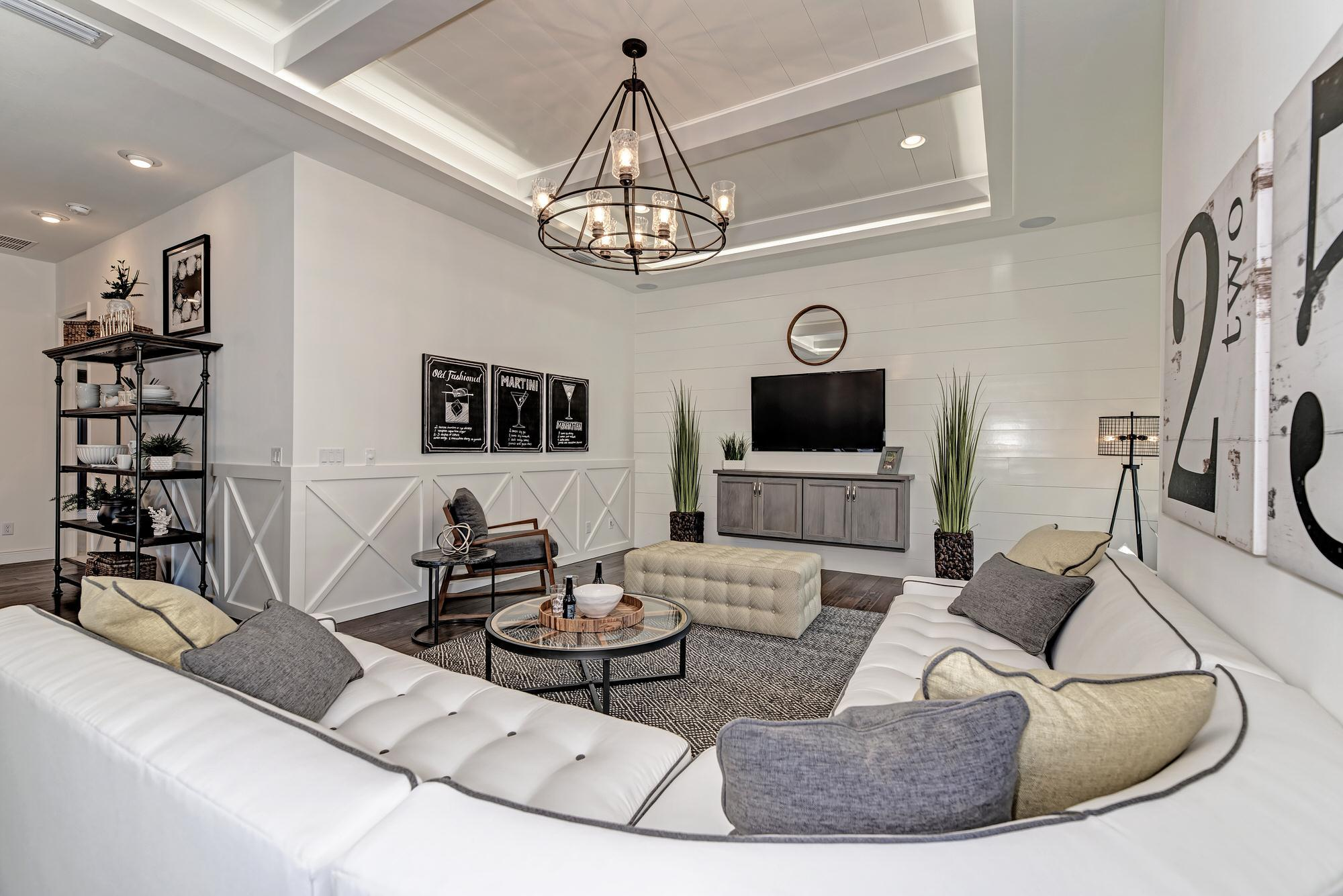 Living Area featured in the Aruba 3 Car Garage By Medallion Home in Sarasota-Bradenton, FL