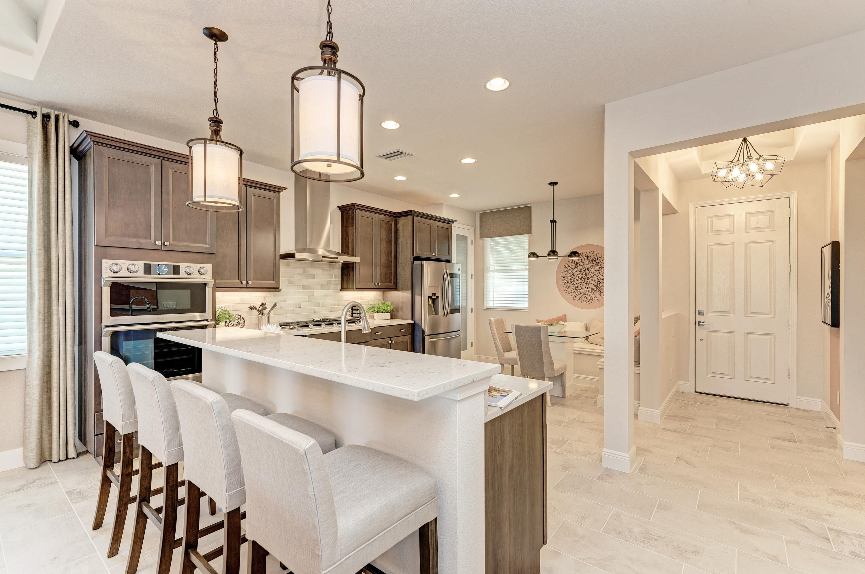 Kitchen featured in the Sanibel Villa Home By Medallion Home in Sarasota-Bradenton, FL