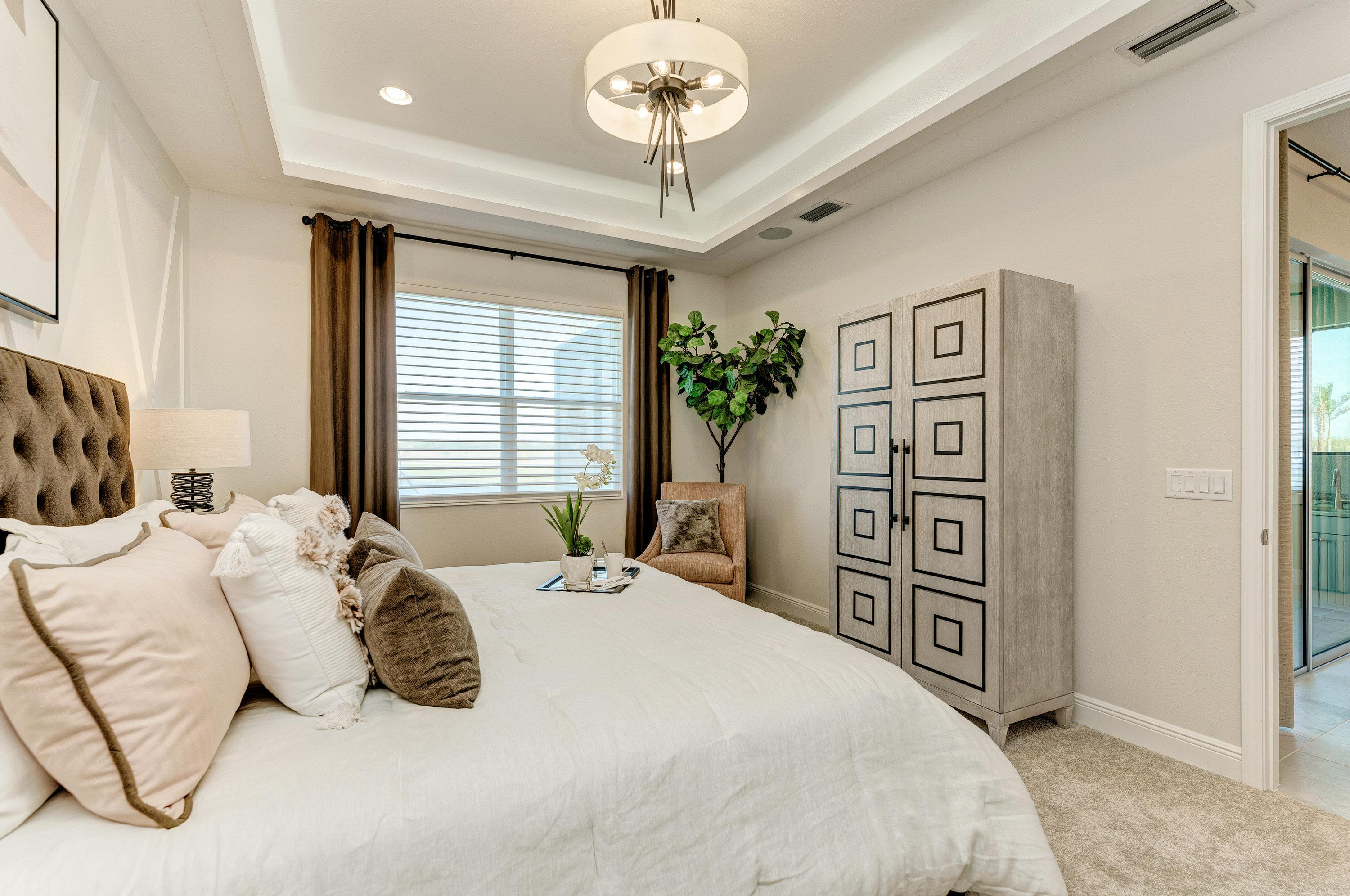 Bedroom featured in the Sanibel Villa Home By Medallion Home in Sarasota-Bradenton, FL