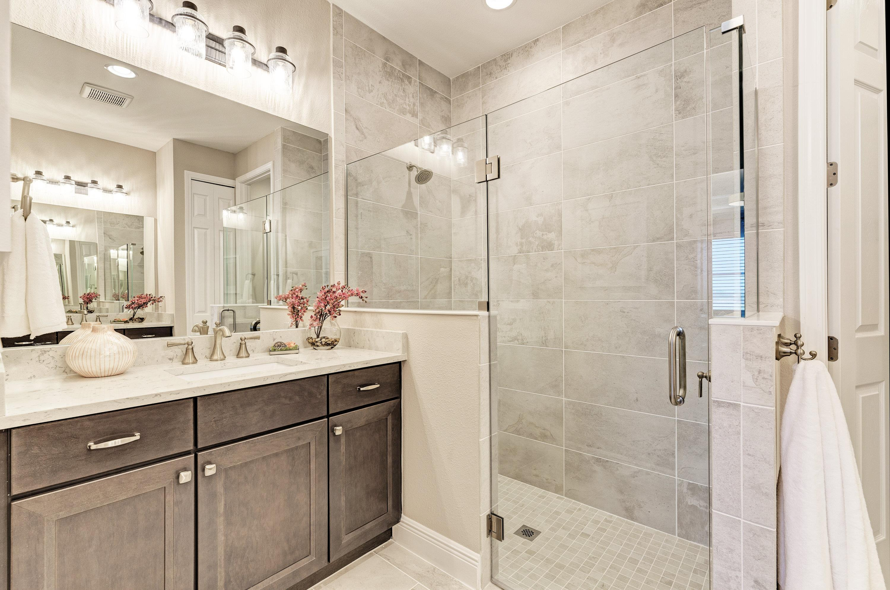 Bathroom featured in the Sanibel Villa Home By Medallion Home in Sarasota-Bradenton, FL