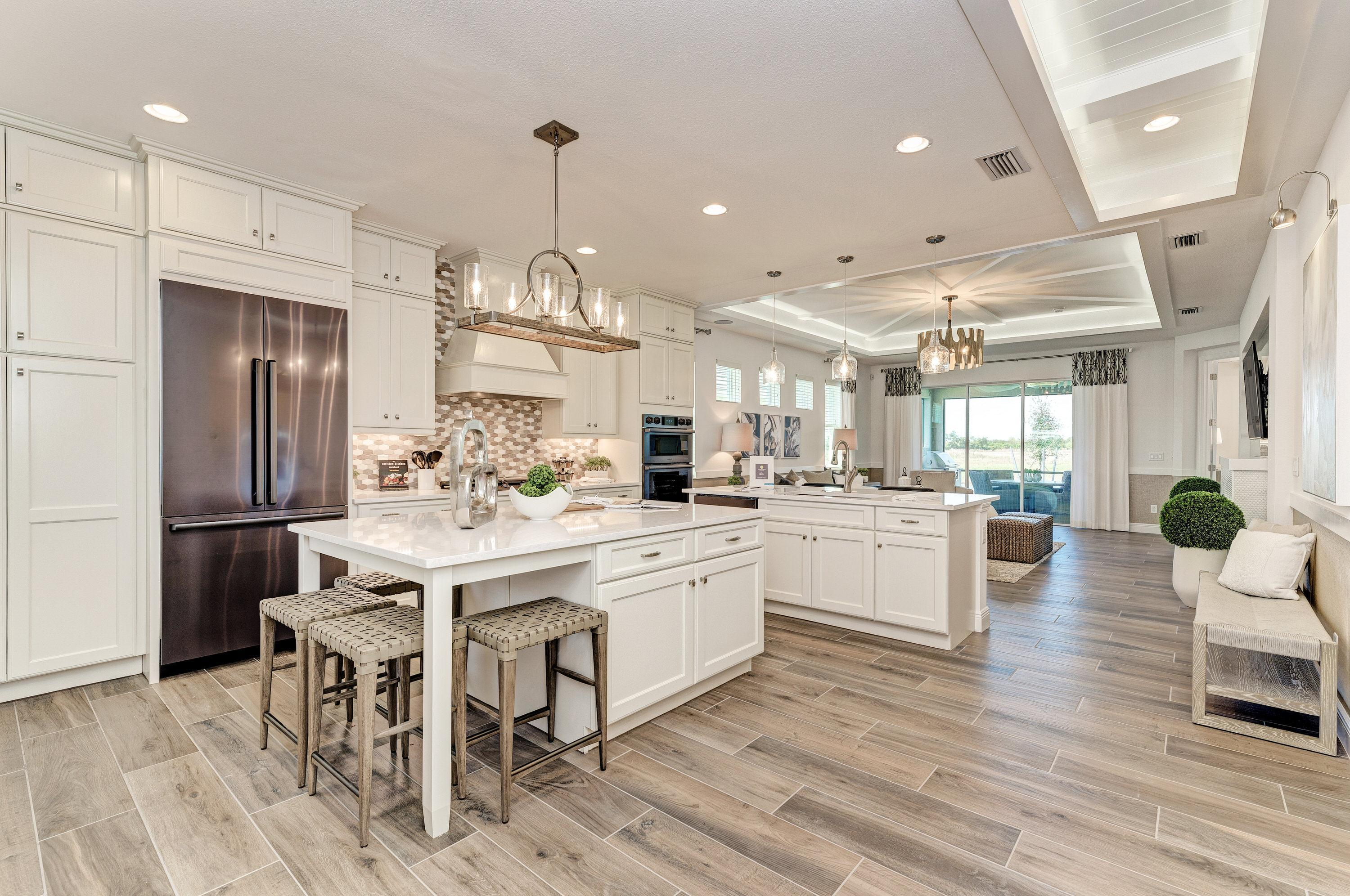 Kitchen featured in the Paradise Villa Home By Medallion Home in Sarasota-Bradenton, FL