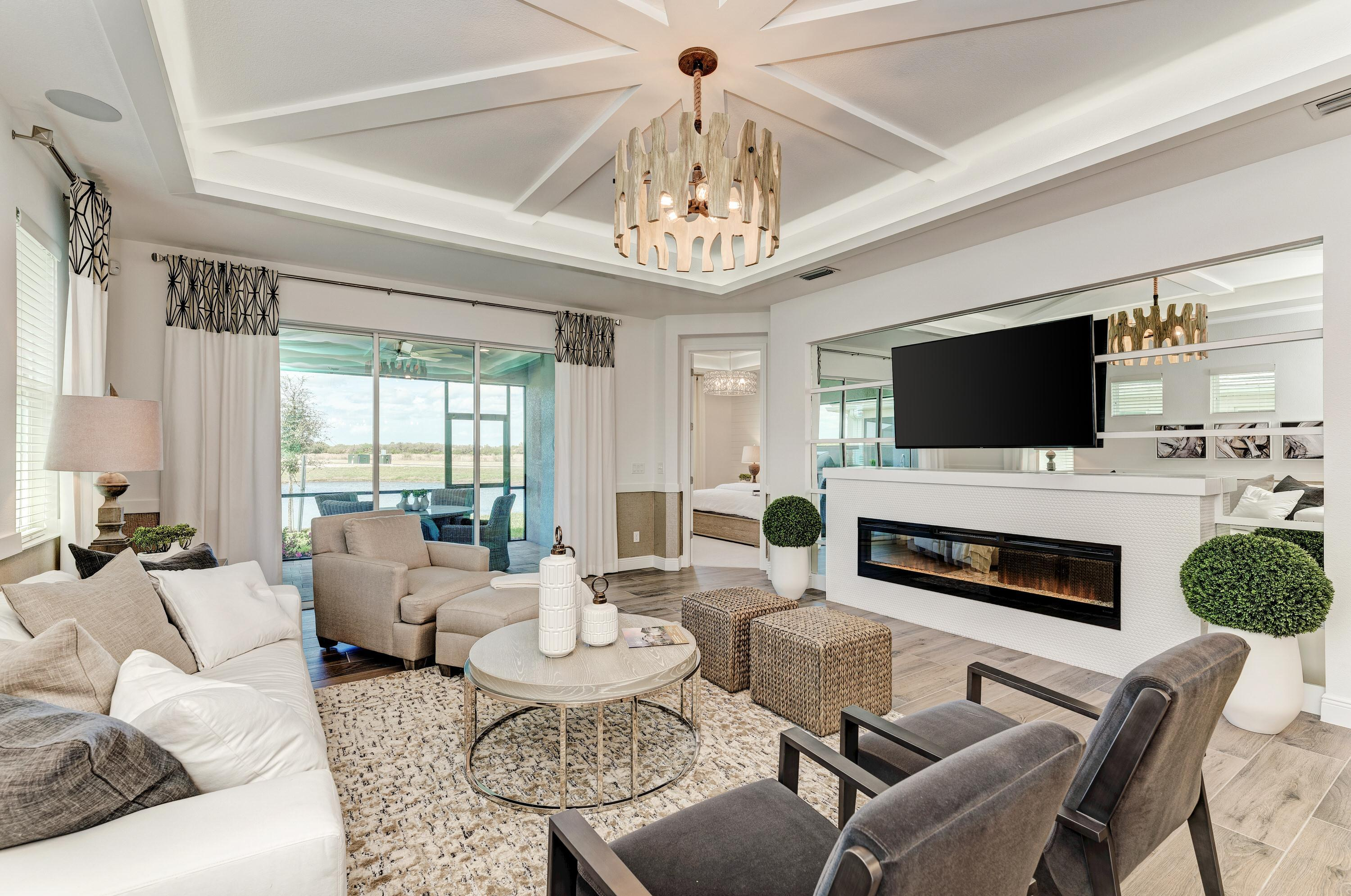 Living Area featured in the Paradise Villa Home By Medallion Home in Sarasota-Bradenton, FL