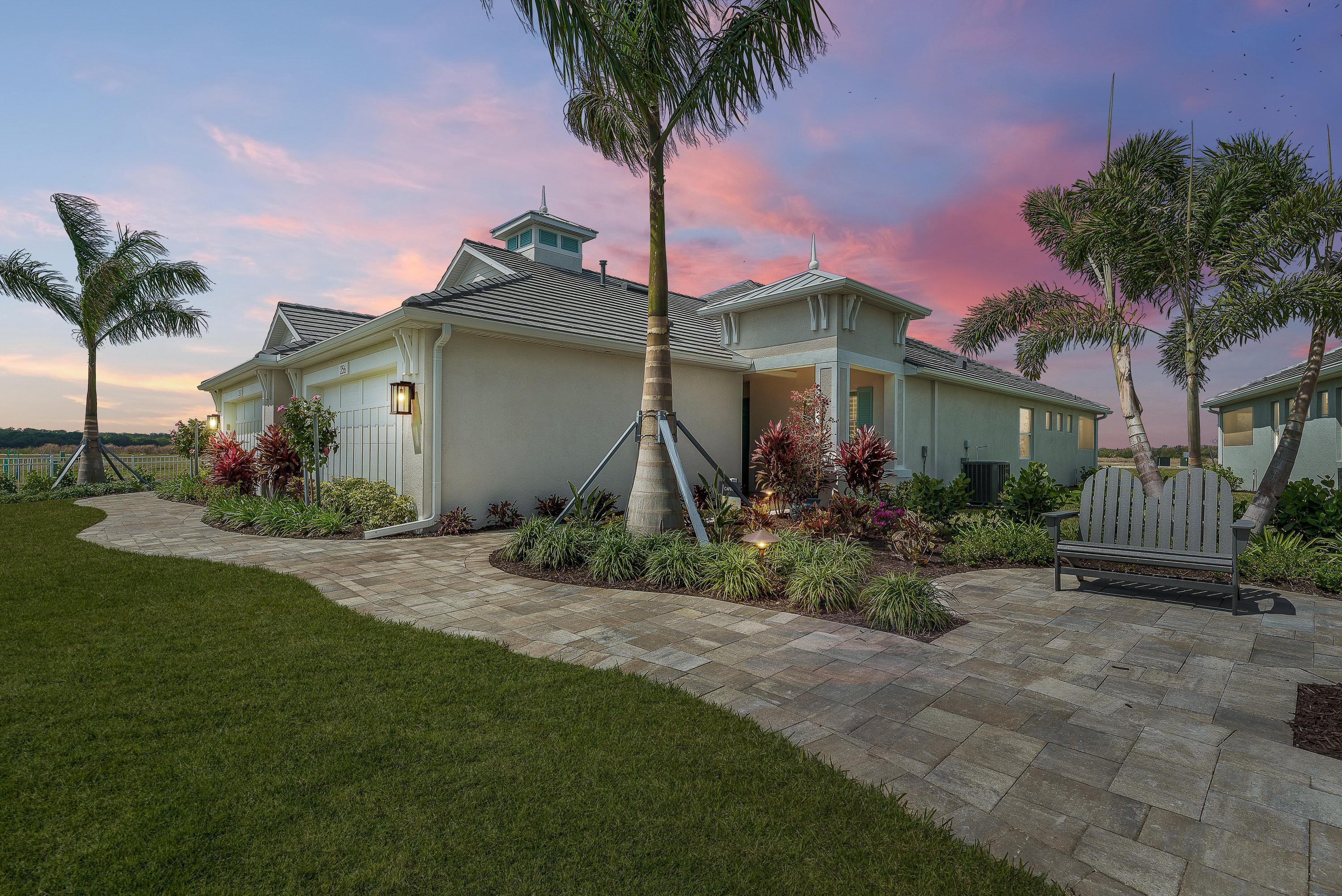 Exterior featured in the Captiva Villa Home By Medallion Home in Sarasota-Bradenton, FL