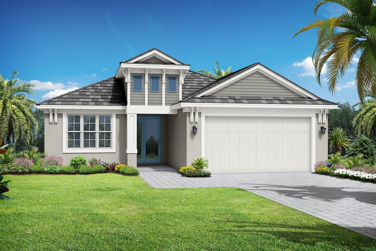Exterior featured in the St. Thomas By Medallion Home in Orlando, FL