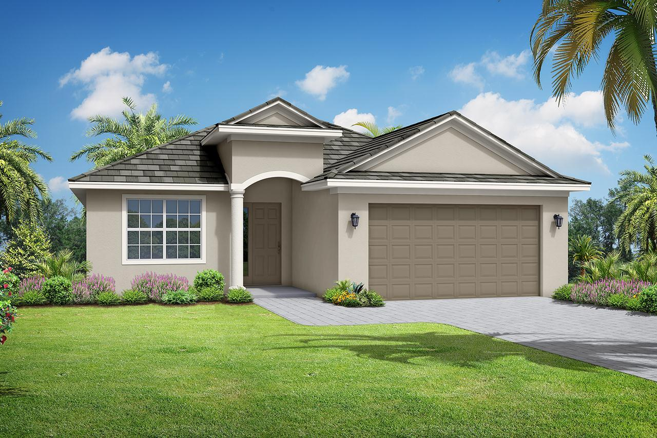 Exterior featured in the St. Thomas By Medallion Home in Sarasota-Bradenton, FL
