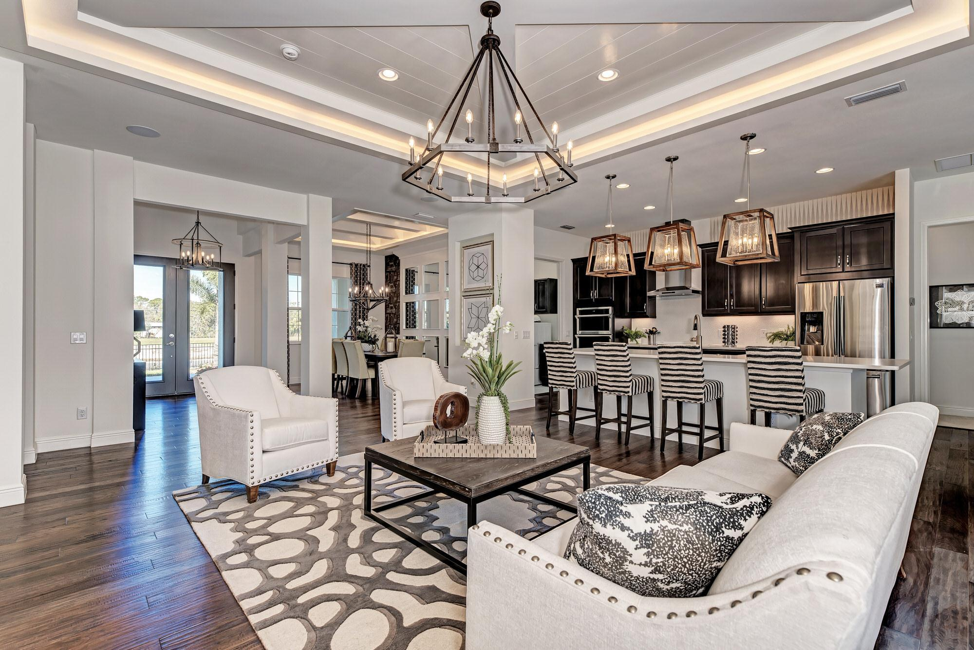 Living Area featured in the Aruba By Medallion Home in Orlando, FL