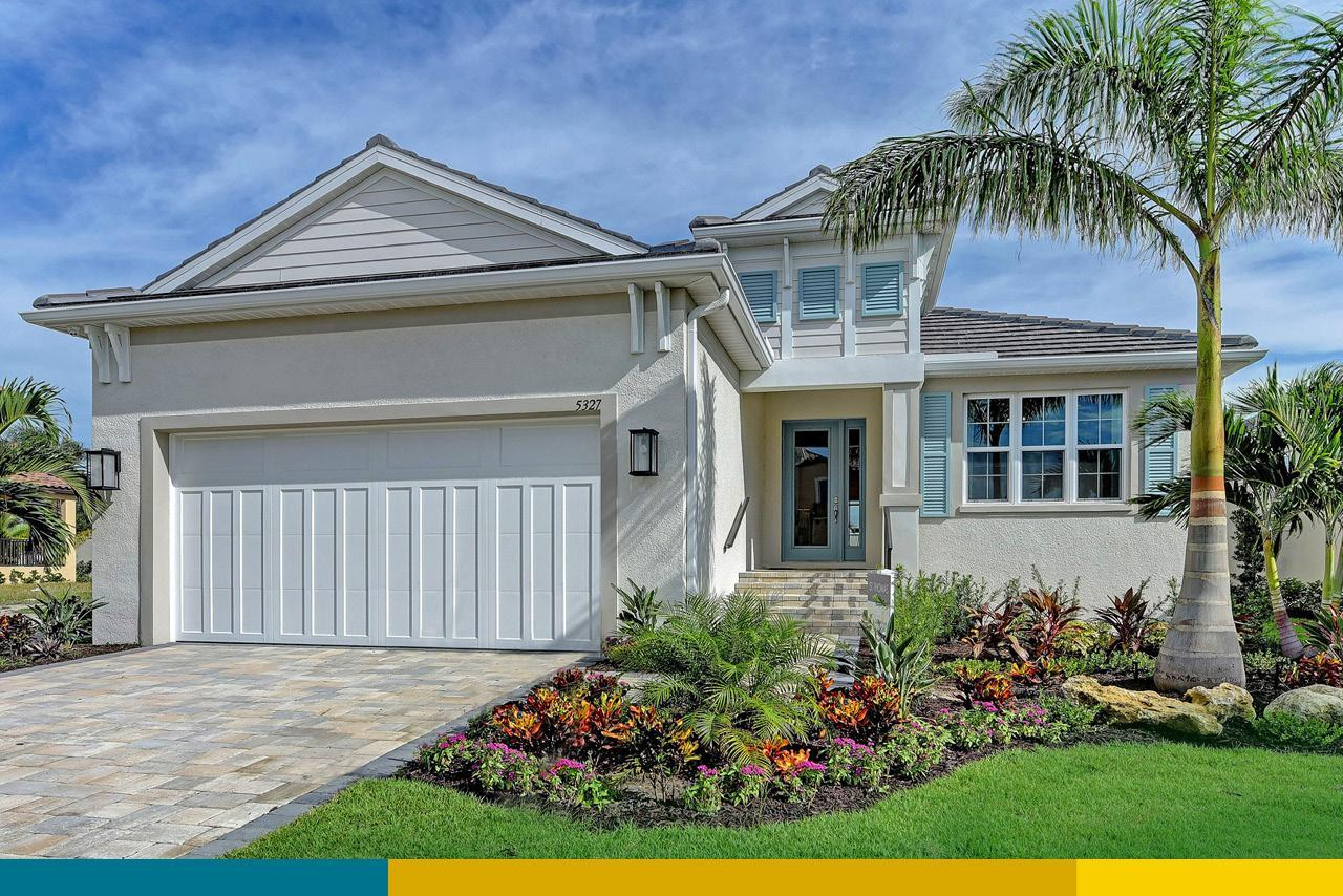 'Watercolor Place Single Family Homes' by Medallion Home in Sarasota-Bradenton