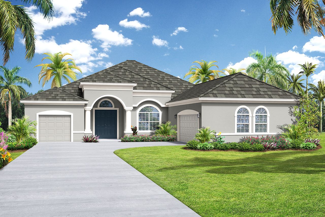 Exterior featured in the Grand Santa Maria-The Reserve By Medallion Home in Sarasota-Bradenton, FL