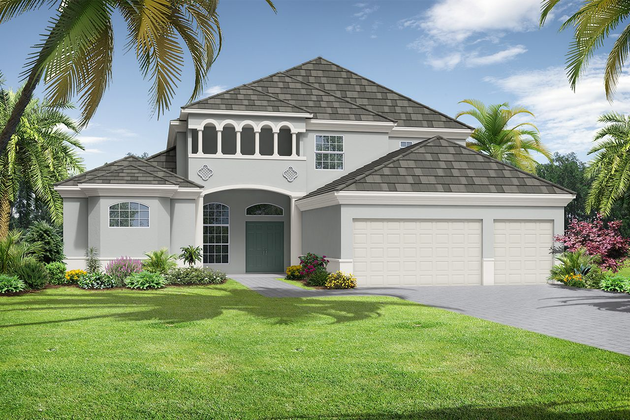 Exterior featured in the Bimini-The Reserve By Medallion Home in Sarasota-Bradenton, FL