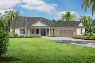 Caicos 3 Car Garage - Hampton Lakes: Sarasota, Florida - Medallion Home