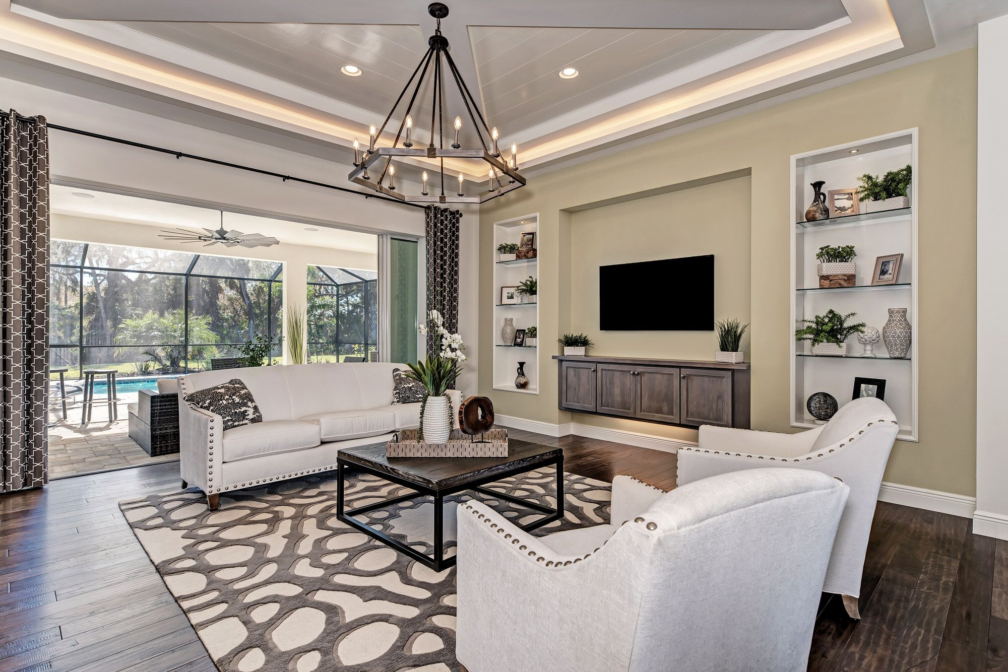 Living Area featured in the Aruba-The Reserve By Medallion Home in Sarasota-Bradenton, FL