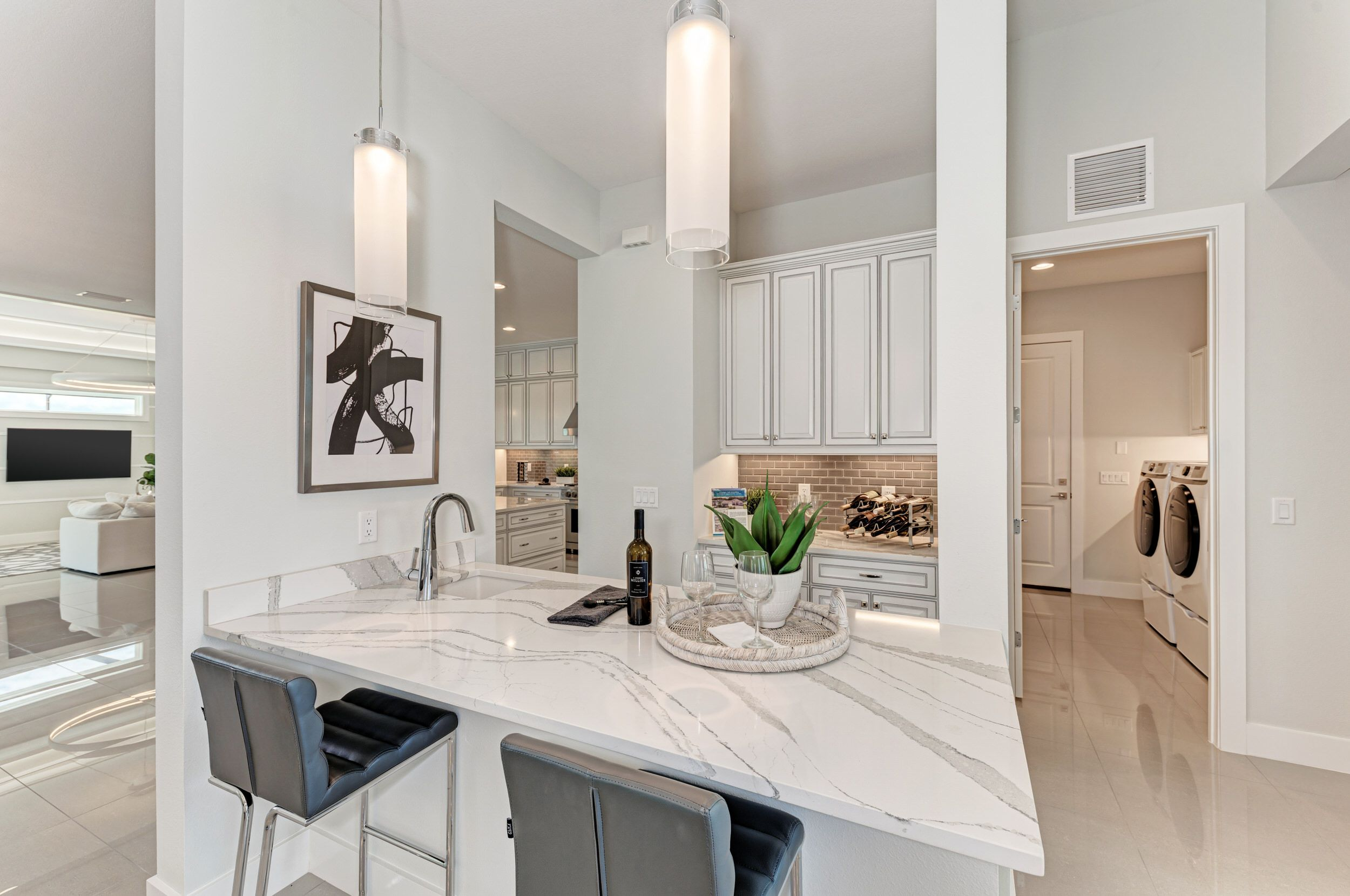 Kitchen featured in the Grand Cayman By Medallion Home in Sarasota-Bradenton, FL