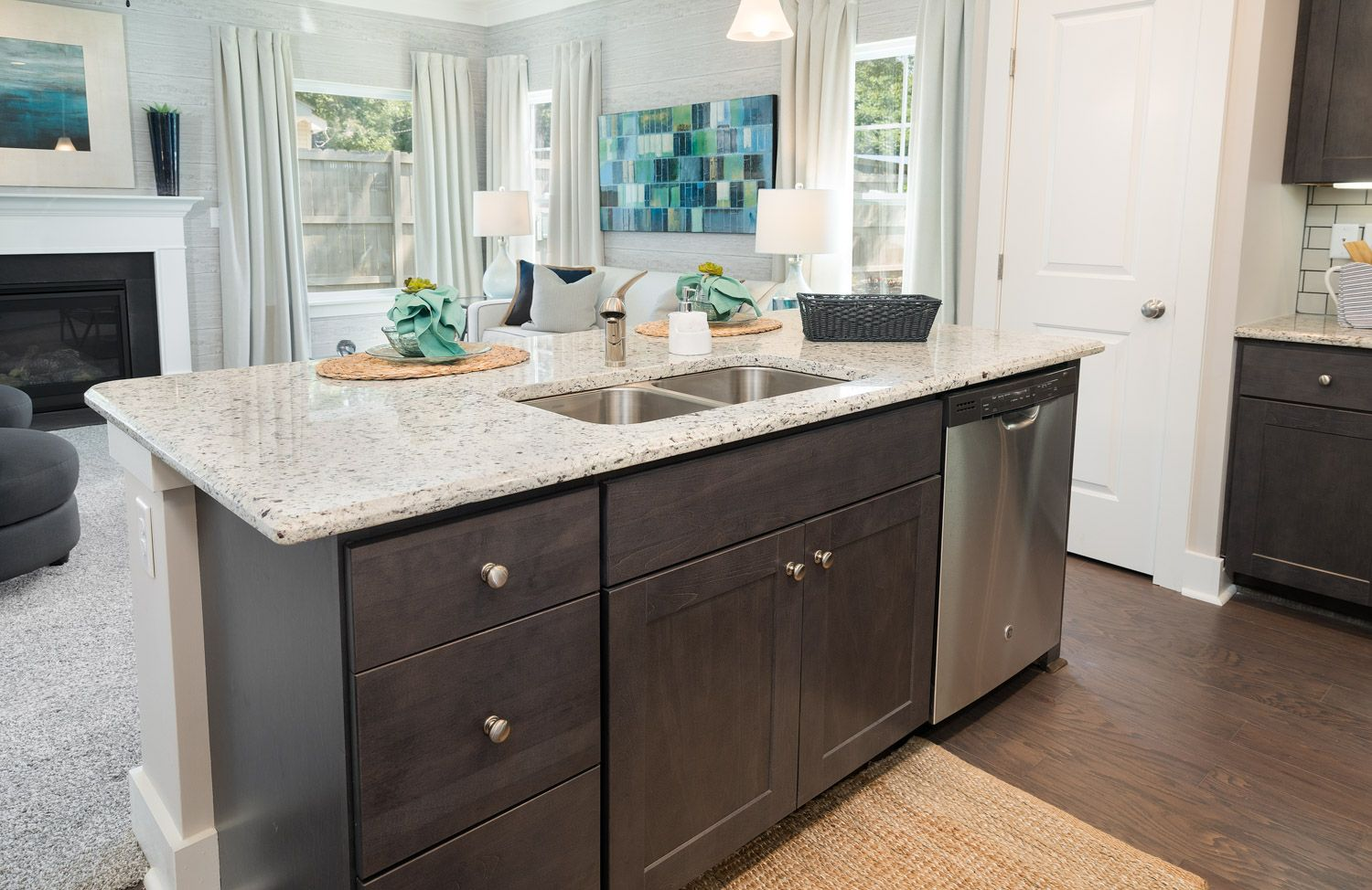 Kitchen featured in The Lancaster By Cothran Homes in Greenville-Spartanburg, SC
