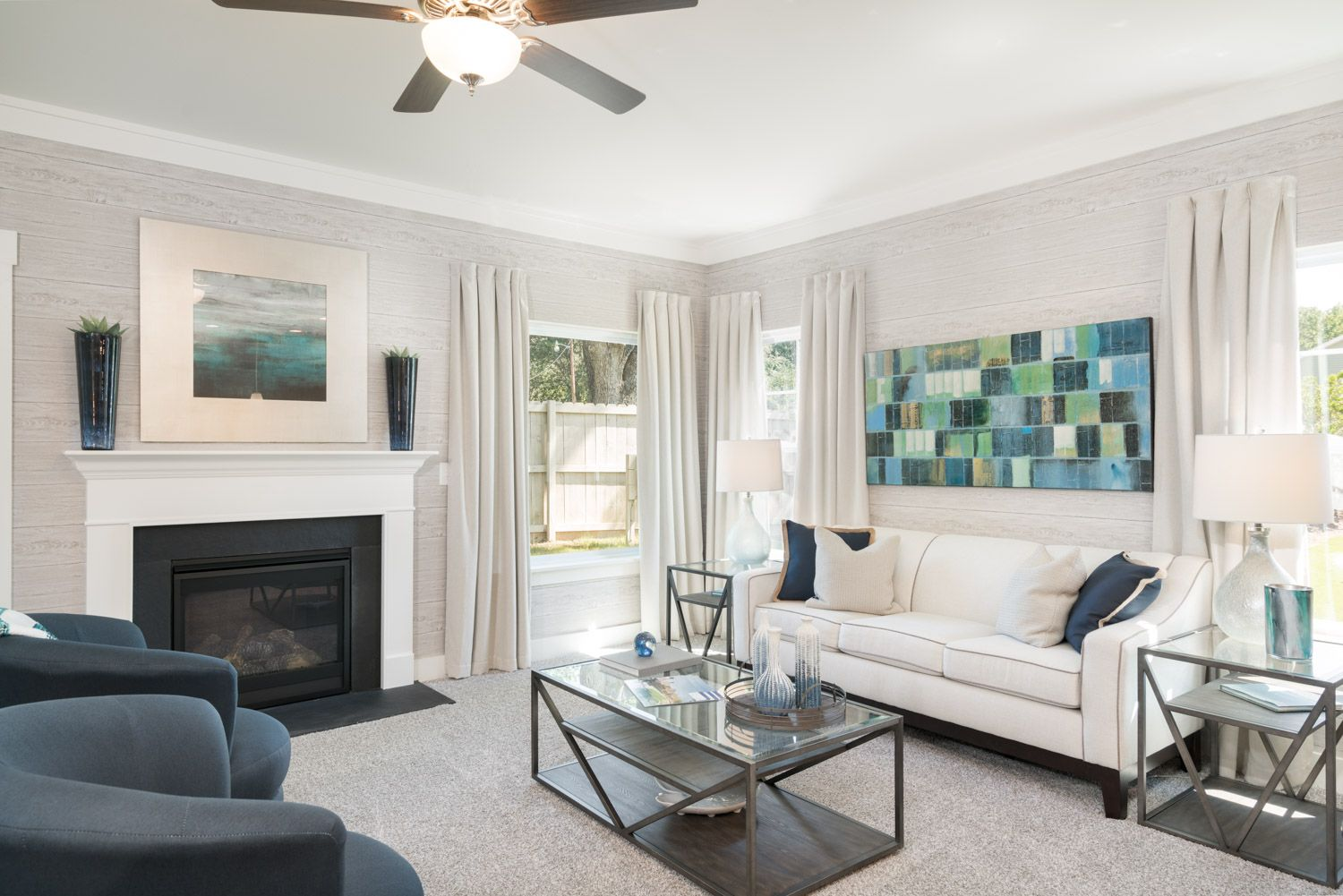 Living Area featured in The Lancaster By Cothran Homes in Greenville-Spartanburg, SC
