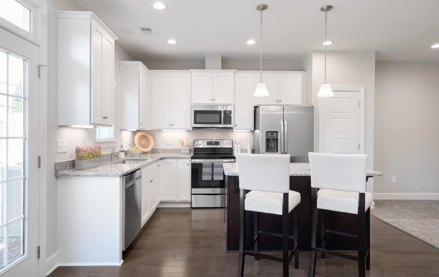 Kitchen featured in The Carson By Cothran Homes in Greenville-Spartanburg, SC