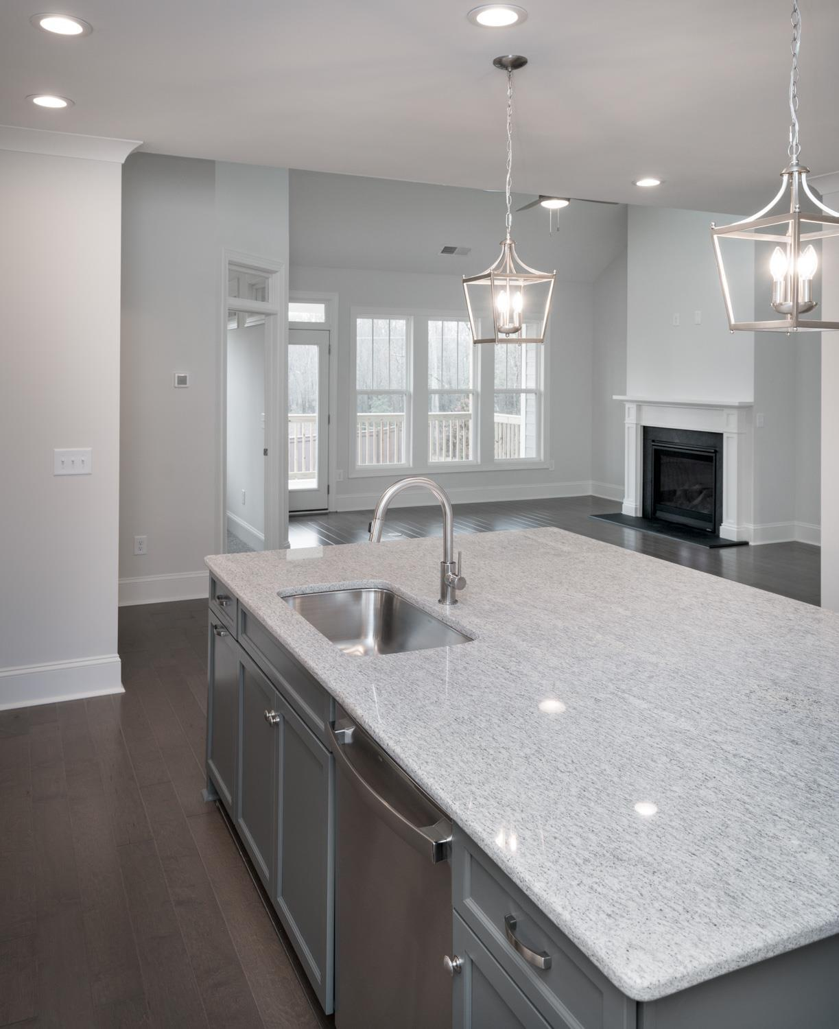 Kitchen featured in The Morgan A By Cothran Homes in Greenville-Spartanburg, SC