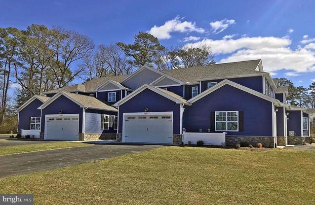 Front Elevation Phase 44:The Enclaves at Woods Cove Rehoboth Beach