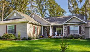 The Hawthorne II - River Rock Run: Milton, Delaware - Country Life Homes