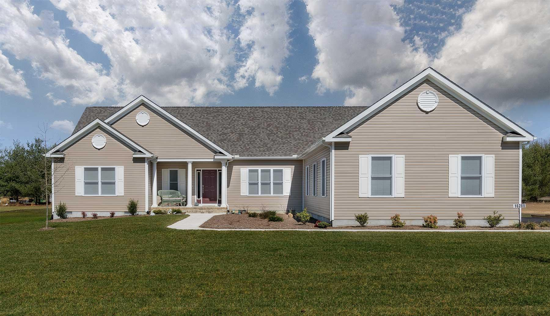 Exterior featured in The Willowbrook By Country Life Homes in Sussex, DE
