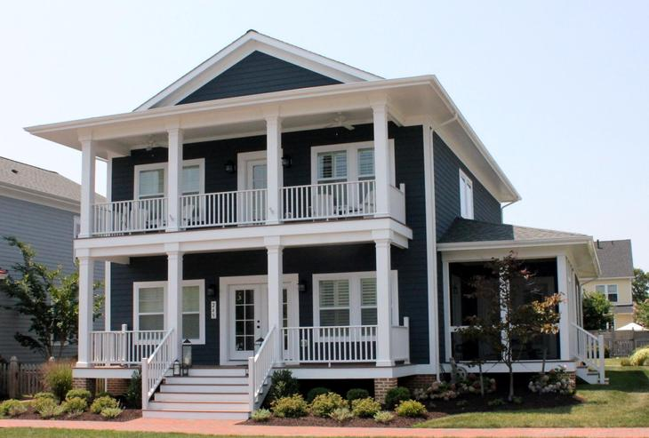 Kitty Hawk Legacy:Front Elevation (Model Home Image)