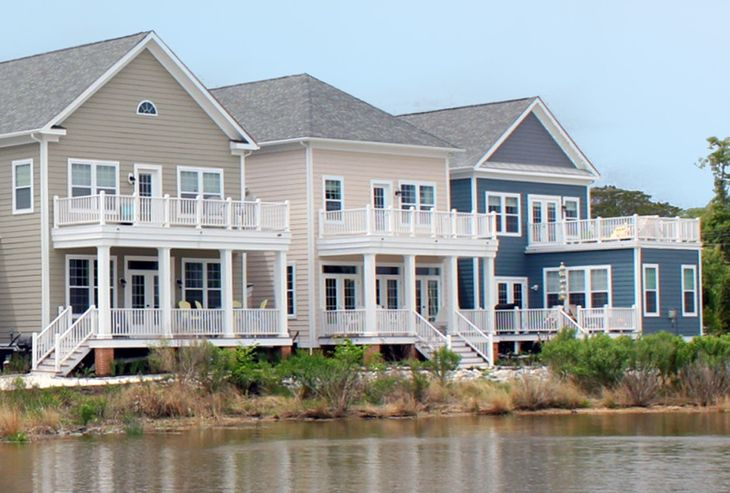 Chatham Series:Front Side View Of Community