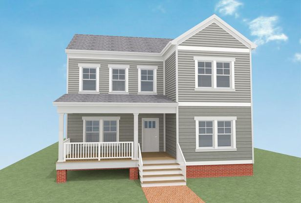 Monterey Legacy:Proposed Two Story Elevation
