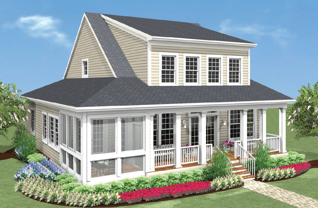 Exterior featured in the Kitty Hawk Classic By Covell Communities in Eastern Shore, MD