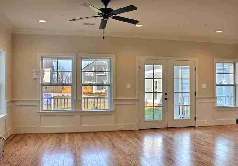 Great Room Window and Door Combination