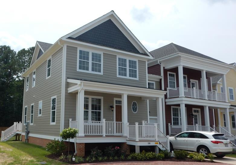 Exterior featured in the Chatham Executive Villa By Covell Communities in Eastern Shore, MD