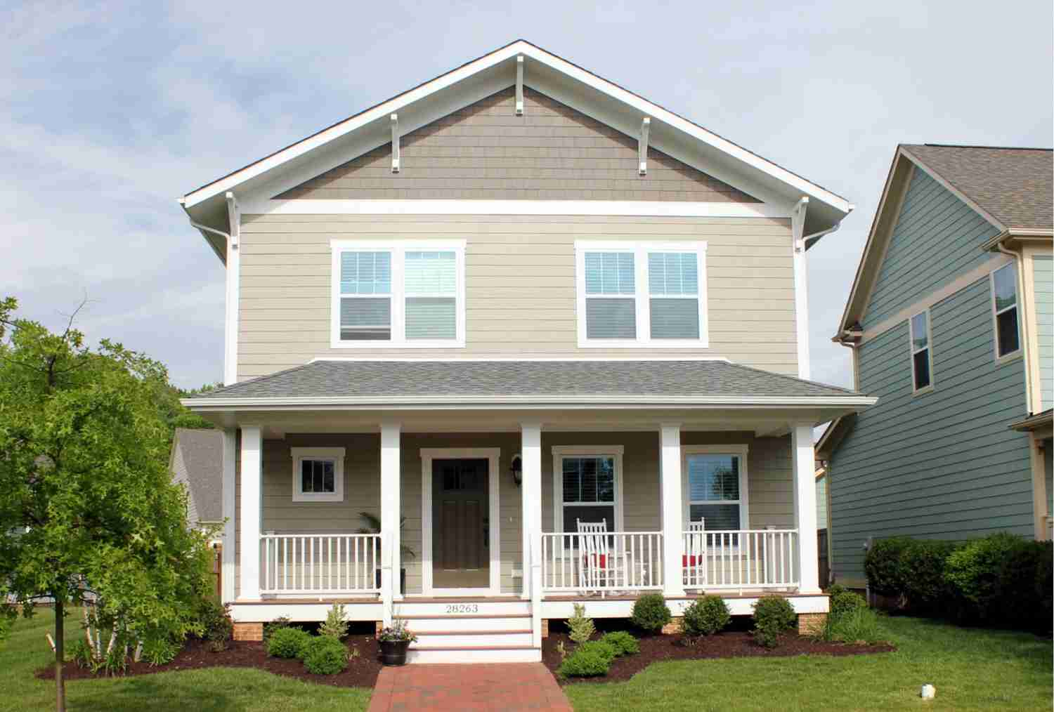 Galveston Legacy with Craftsman Style Elevation