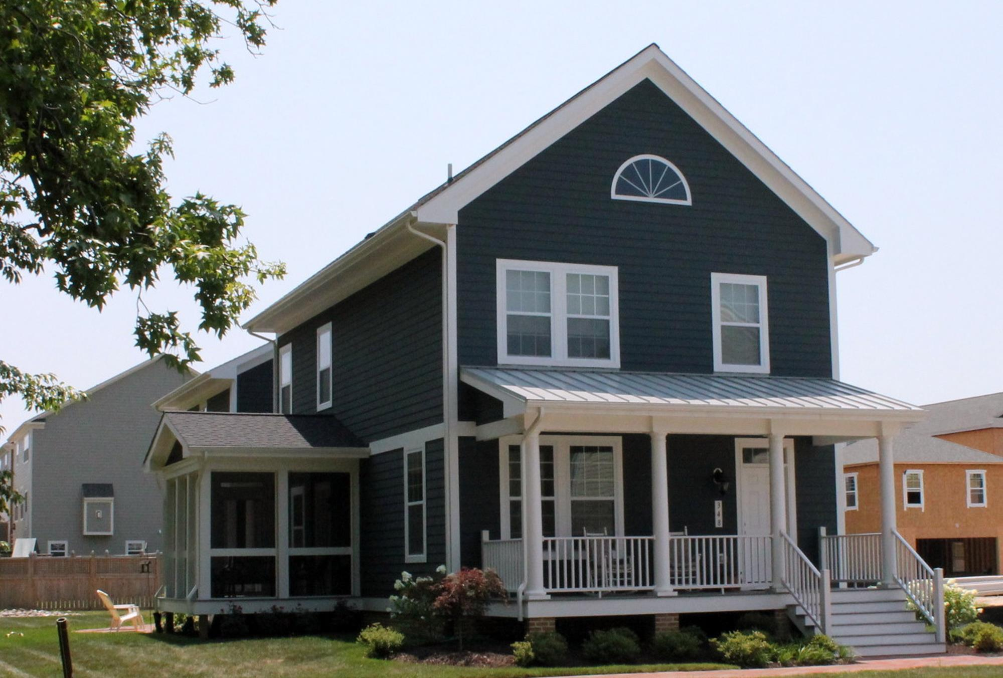 Exterior featured in the Chatham Classic By Covell Communities in Eastern Shore, MD