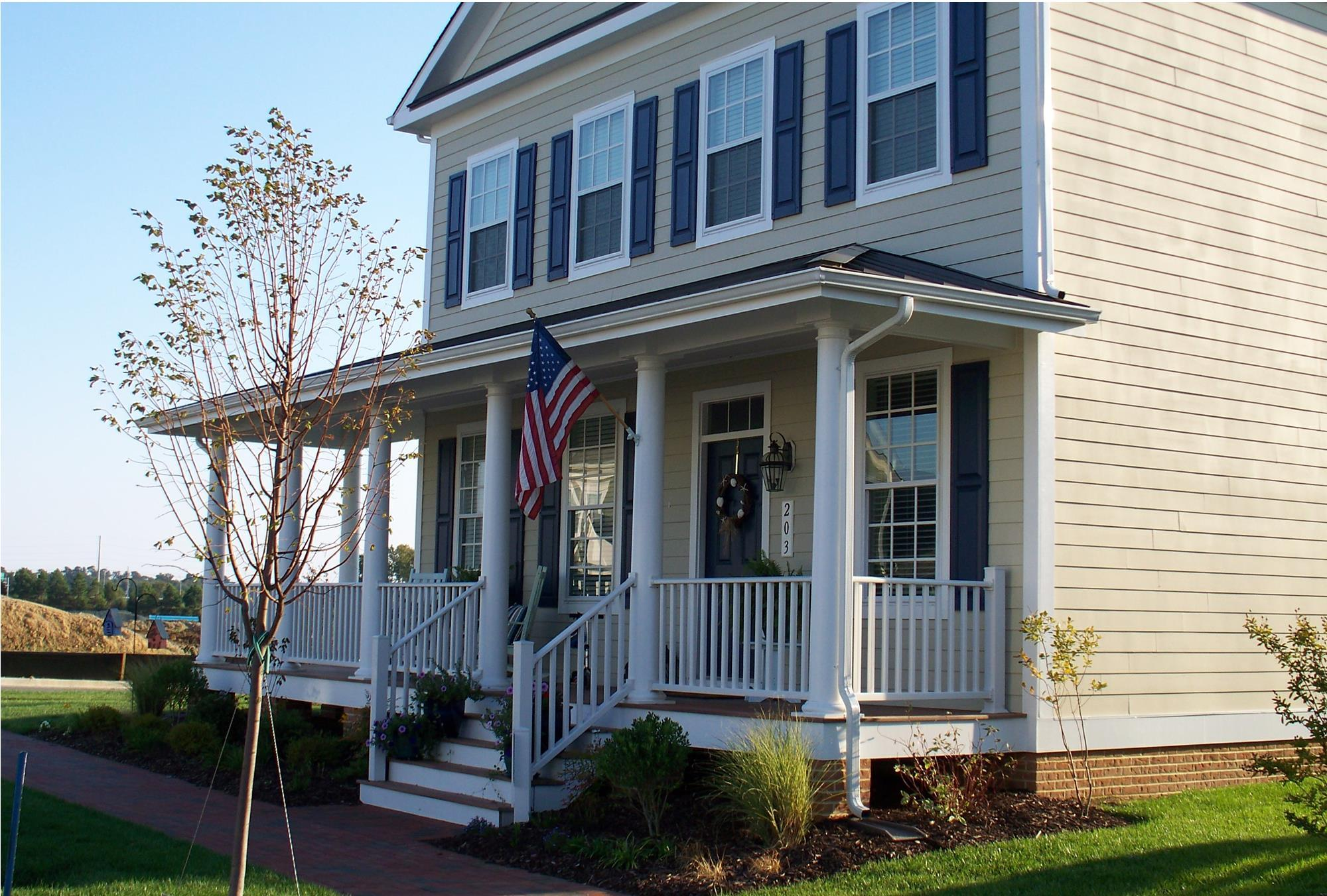 Exterior featured in the Port Royal Classic By Covell Communities in Eastern Shore, MD