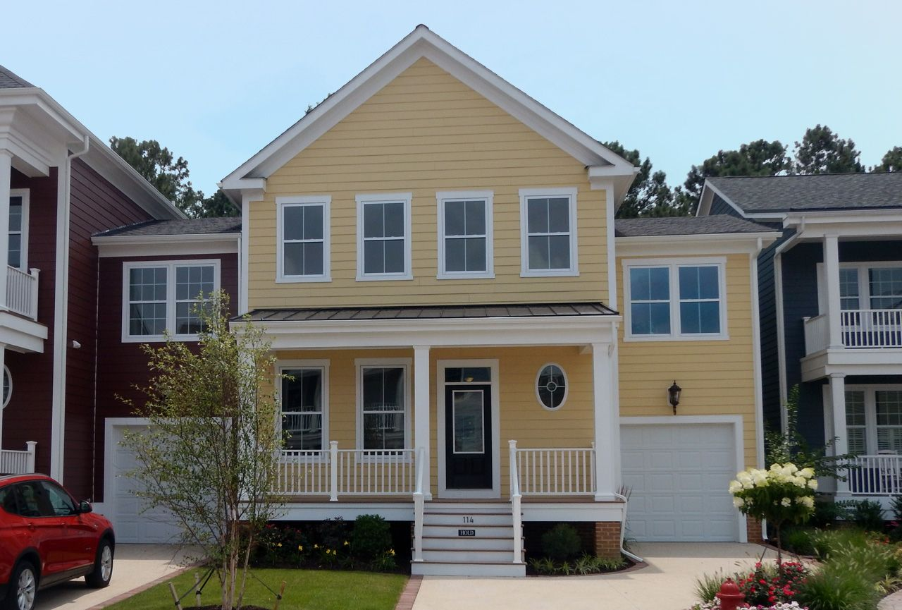 Exterior featured in the Chatham Legacy Villa By Covell Communities in Eastern Shore, MD
