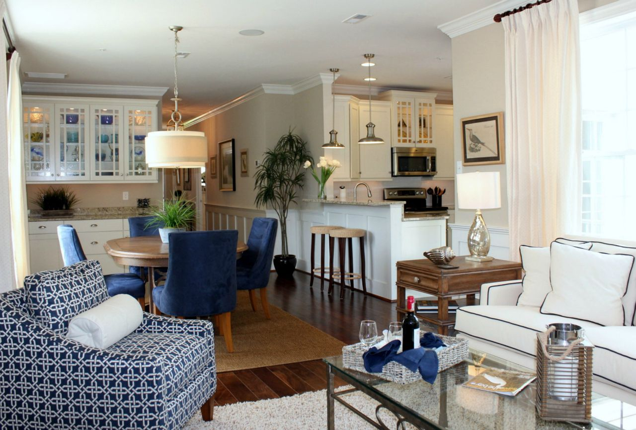 Living Area featured in the Chatham Legacy Villa By Covell Communities in Eastern Shore, MD