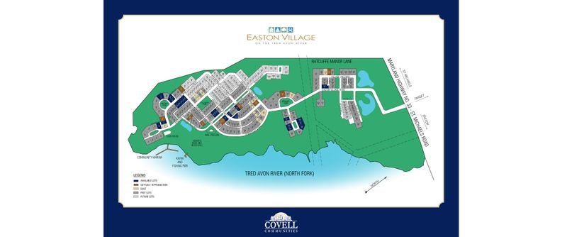 Easton Village Site Plan