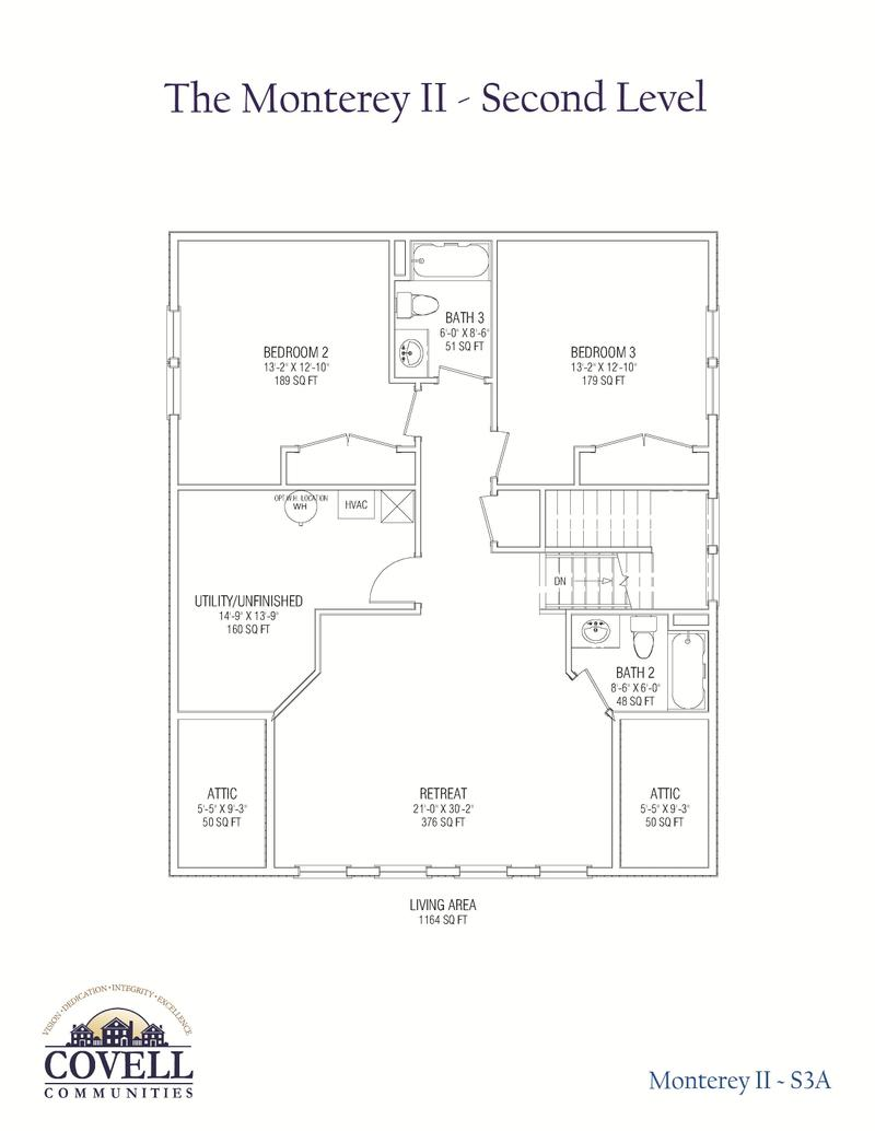 Monterey Legacy Home Plan By Covell Communities In Easton