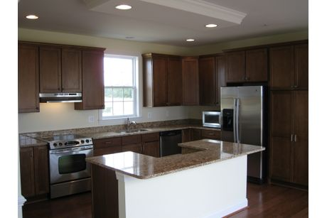Kitchen-in-Port Royal Executive-at-Covell Signature Homes-in-Chester