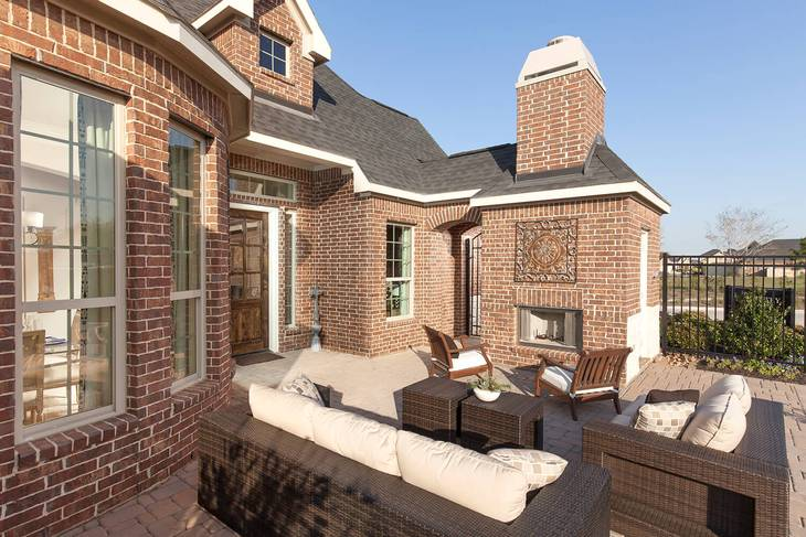 Cane Island 55 Patio Homes In Katy Tx New Homes Floor Plans By