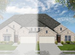 Bowie - Grand Central Park Townhomes: Conroe, Texas - Coventry Homes