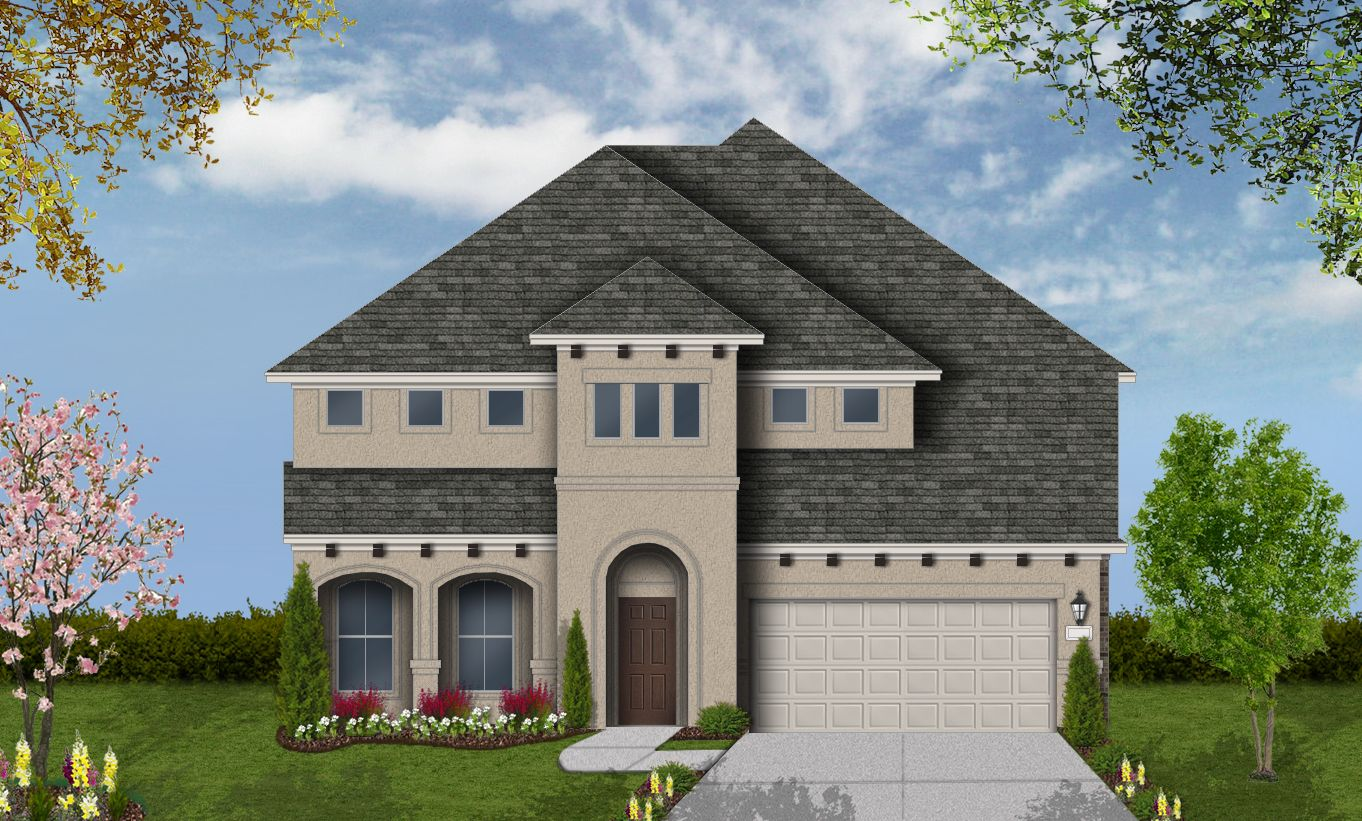 Exterior featured in the Whitney By Coventry Homes in Houston, TX