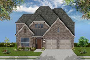 Farnsworth - Barrington at Lantana 50' Homesites: Lantana, Texas - Coventry Homes