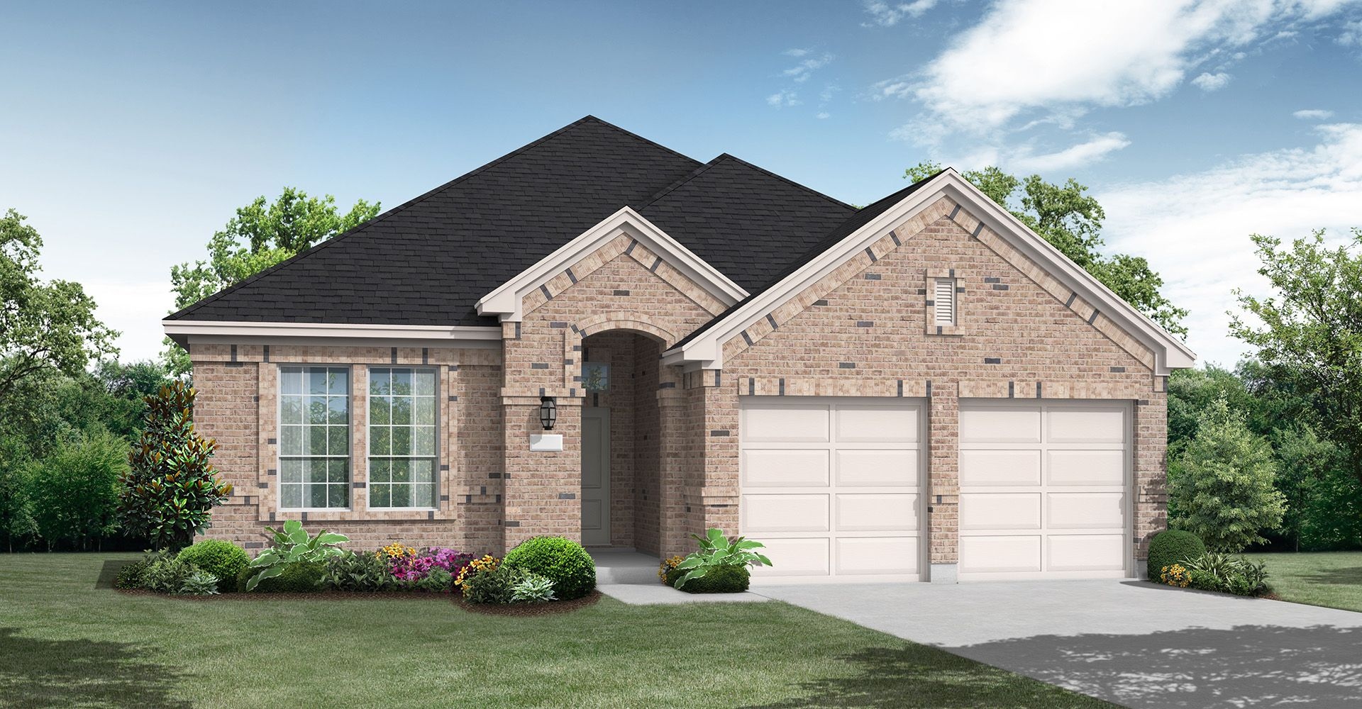 Exterior featured in the Childress By Coventry Homes in Dallas, TX
