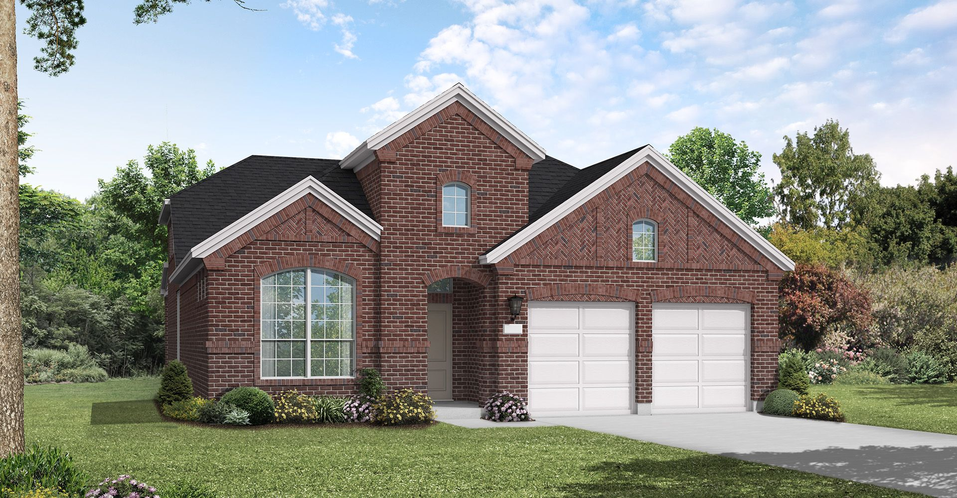 Exterior featured in the Farnsworth By Coventry Homes in Dallas, TX