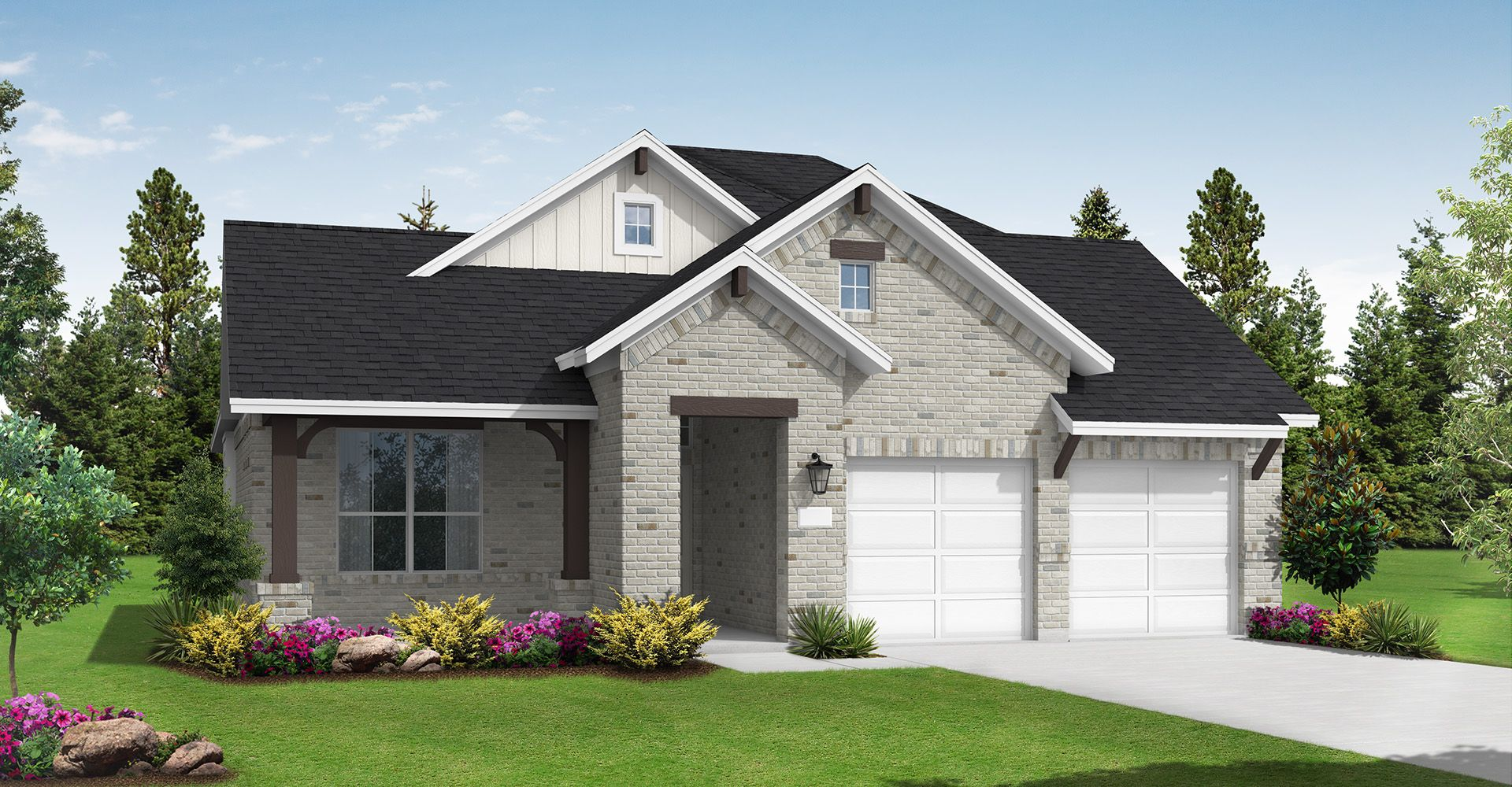 Exterior featured in the Burkburnett II By Coventry Homes in Austin, TX