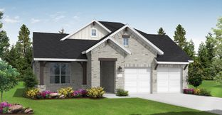 Burkburnett II - Wolf Ranch South Fork 51': Georgetown, Texas - Coventry Homes
