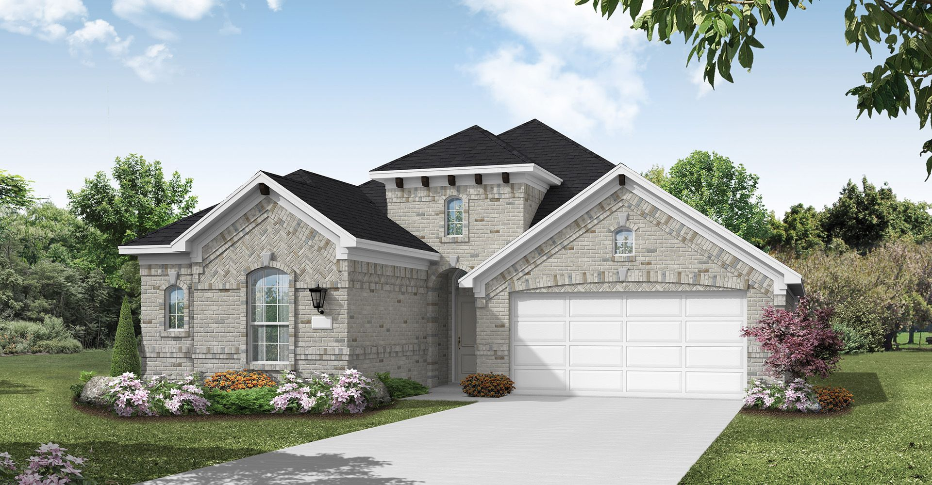 Exterior featured in the Concord By Coventry Homes in Dallas, TX