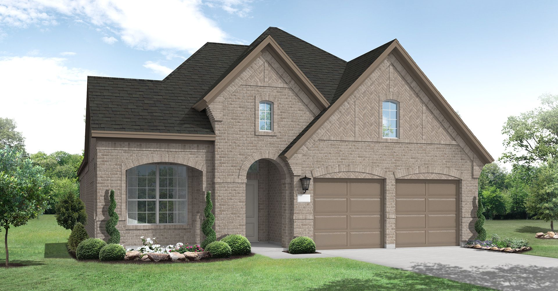 Exterior featured in the Kilgore By Coventry Homes in Dallas, TX