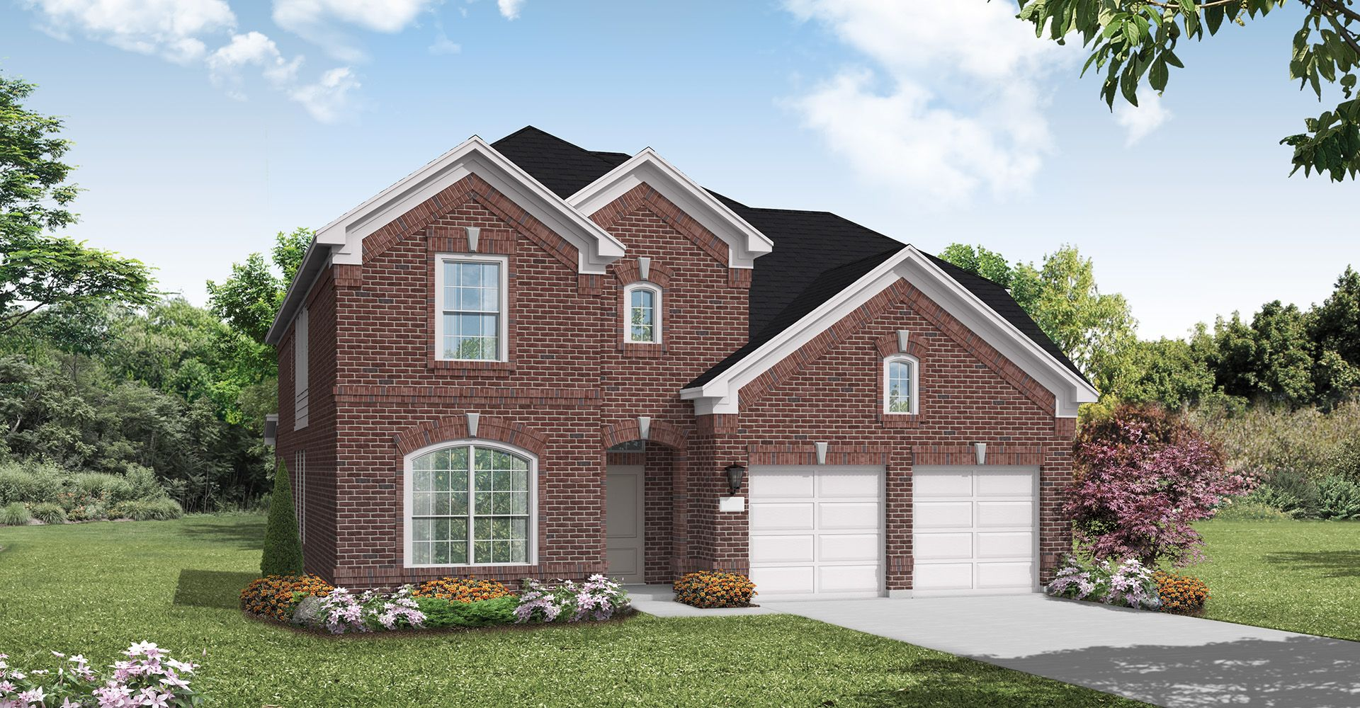 Exterior featured in the Mineola By Coventry Homes in Dallas, TX