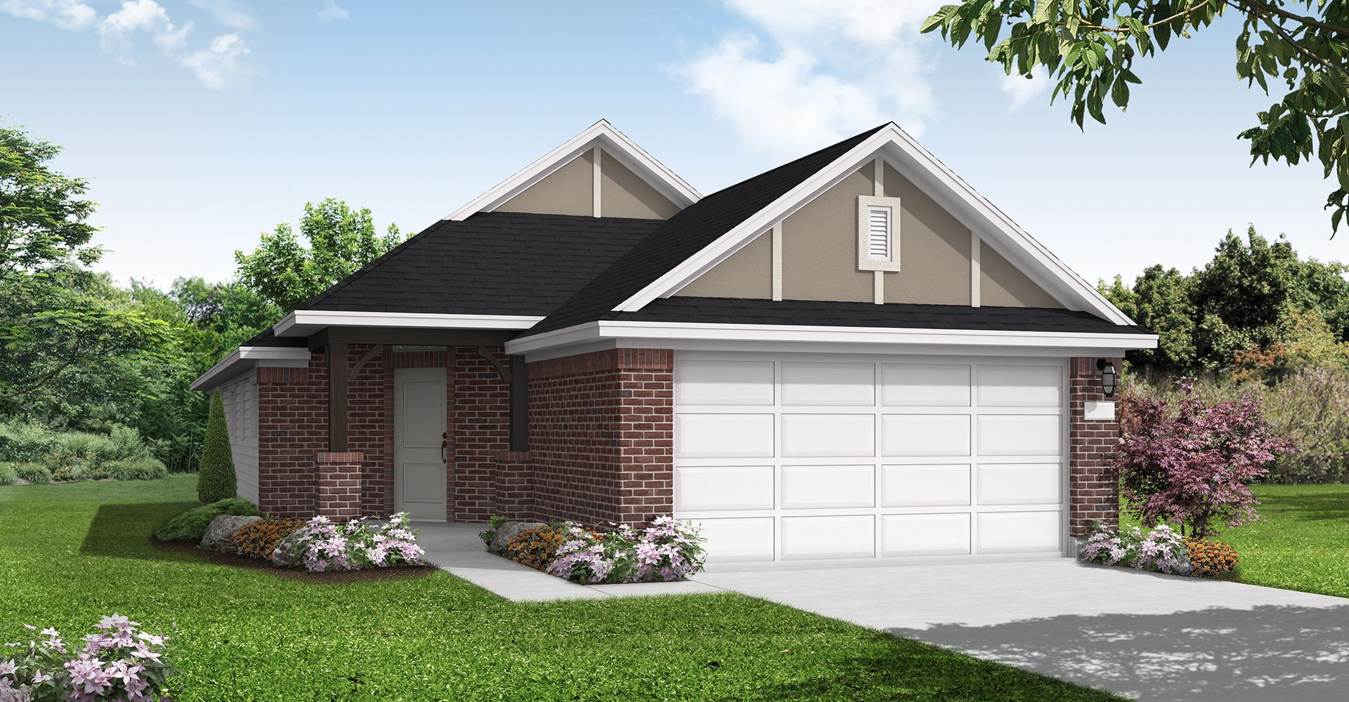 Exterior featured in the Leona By Coventry Homes in Houston, TX